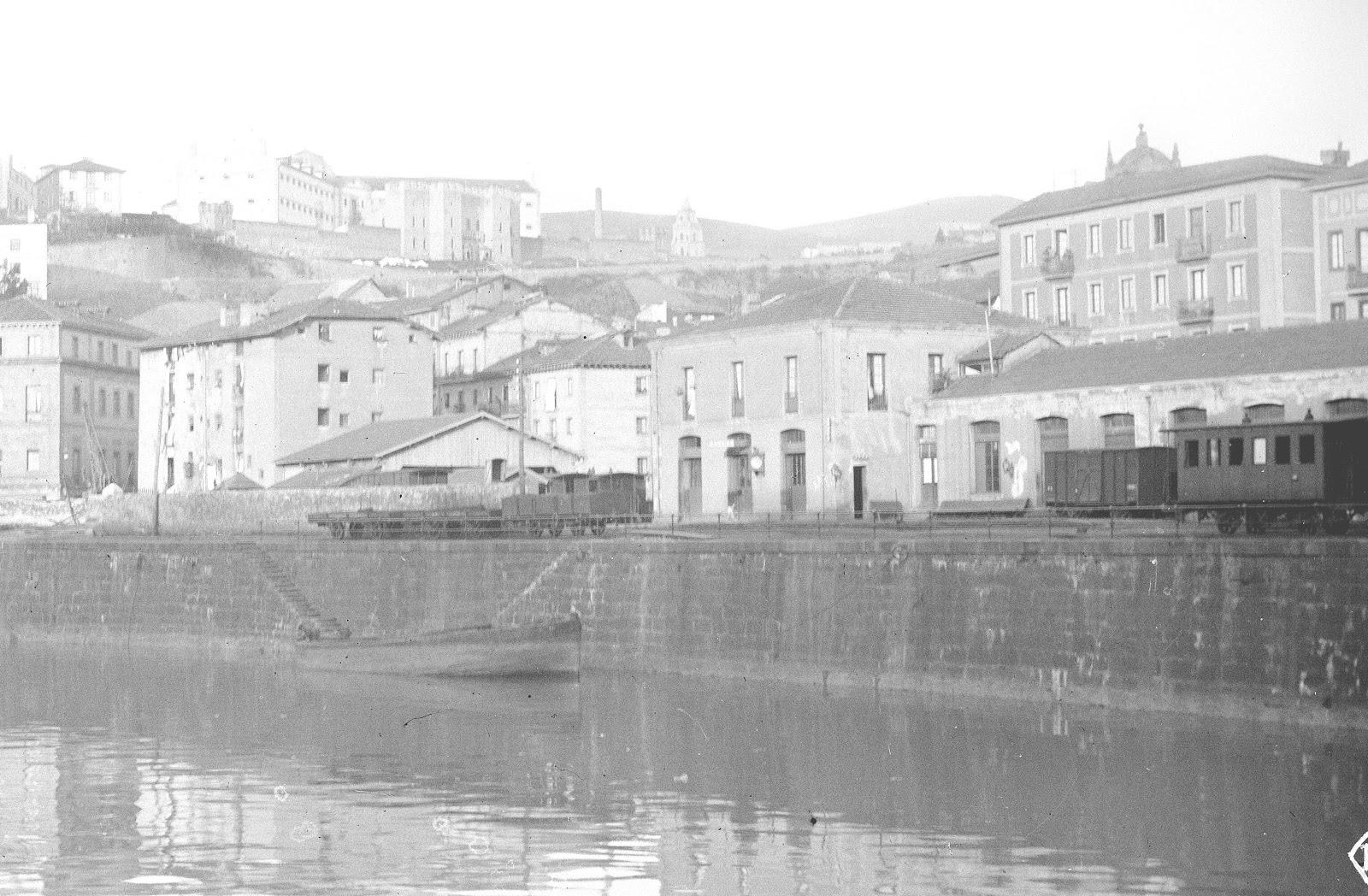 +++Bilbao-Achuri, estacion del Bilbao a Durango, Olaizola
