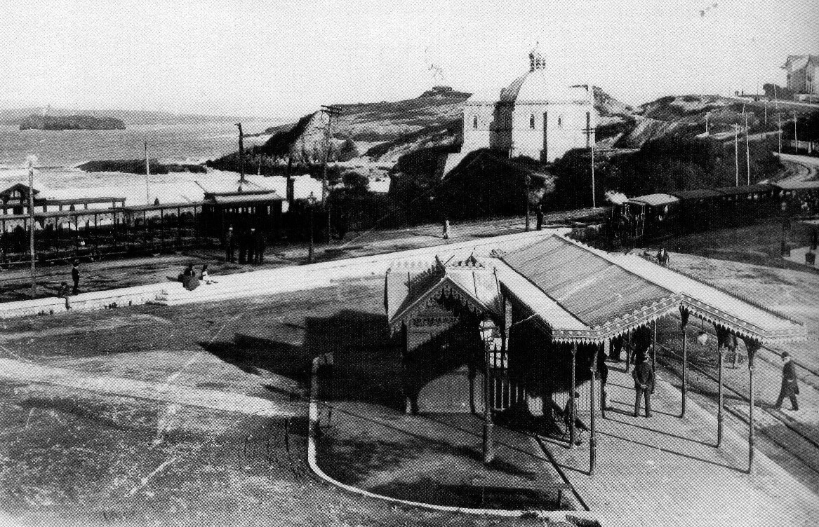+++Tranvía Pombo y del Sardinero , unificados en 1903, Olaizola
