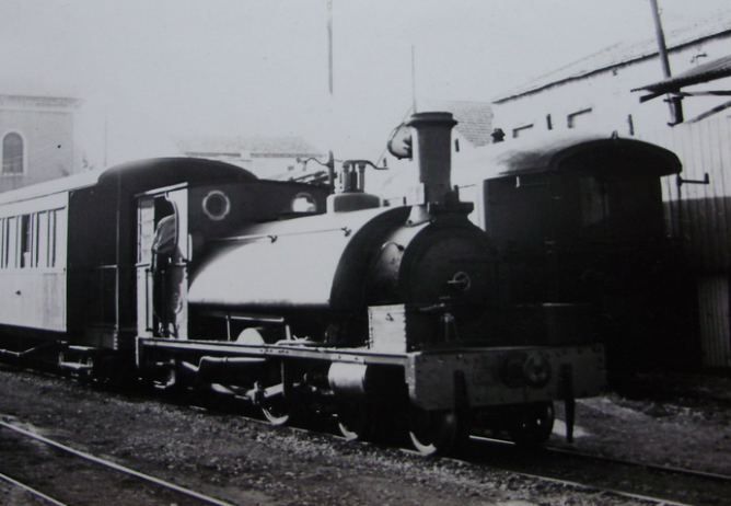 Carcagente a Denia, locomotora nº 4, el 6.05.1963, foto Major EAS Cotton
