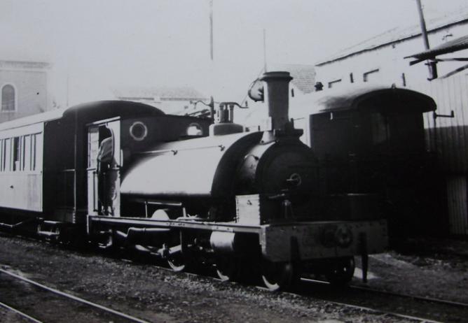Carcagente a Denia, locomotora nº 4, el 6.05.1963, foto Major EAS Cotton