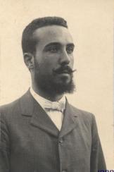 Enrique Paniagua de Porras.ingeniero de la electrificacion de la linea de Linares a Almeria