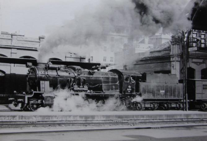 Estación de Valencia, años 1960. fondo JPT