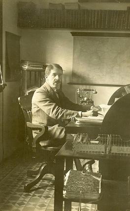 George L. Boag , Director en 1917, del GSSR, Archivo Eveline Helmer