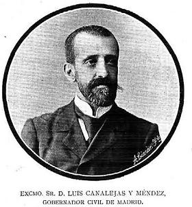 Luis Canalejas Mendez , Ingeniero de Caminos