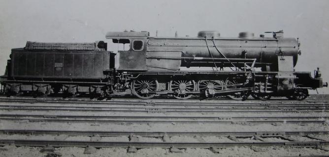 MZA locomotora nº 1450