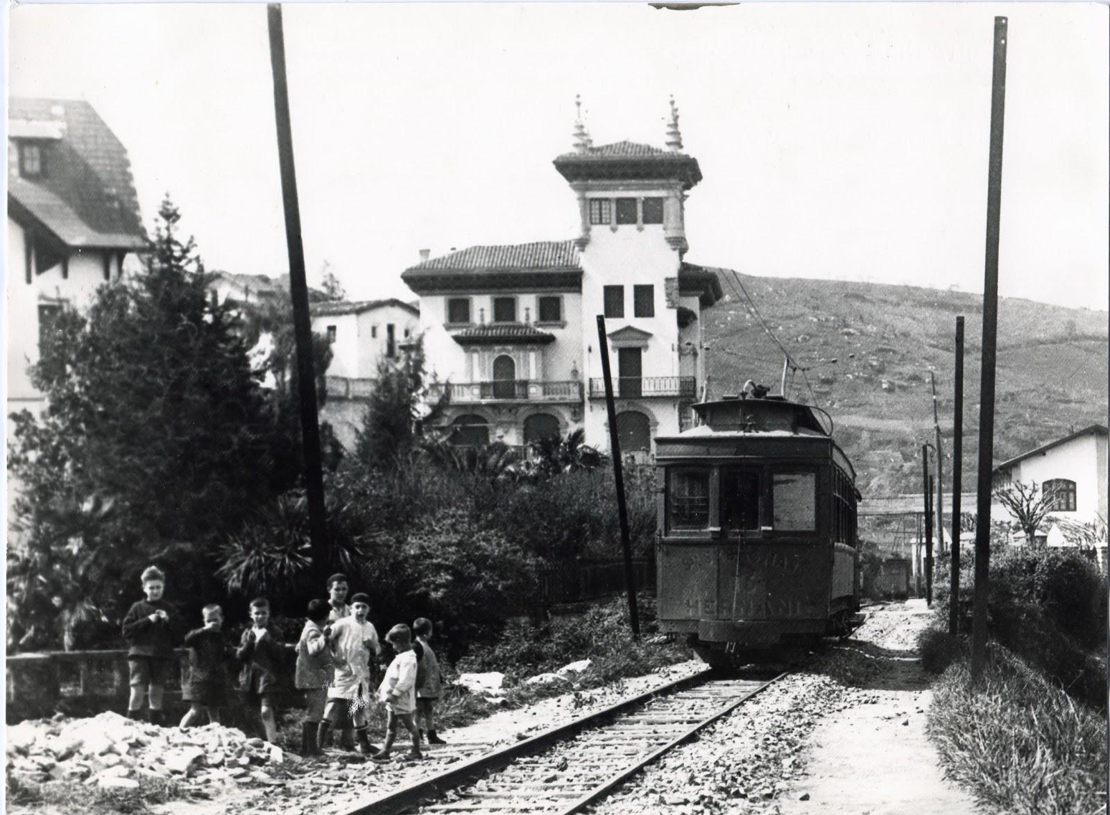 San Sebastian de la Gomer Spain  City new picture : San Sebastian a Hernani año 1913, Foto : Jesus Maria Gómez
