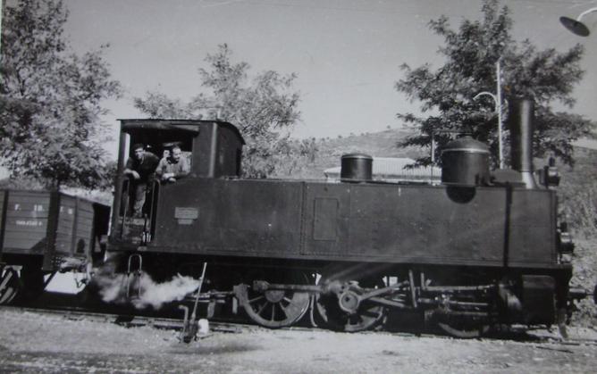 Villena a Alcoy y Yecla, locomotora nº 3, año 1959