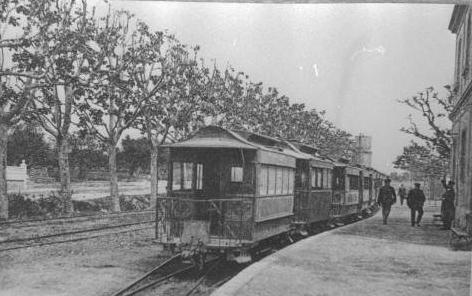 Reus á Salou , año 1960, Estación de Salou, Archivo Cuyas, Fondo ICC