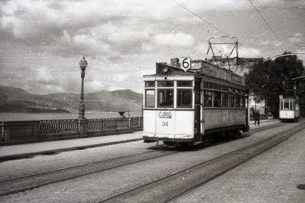 Tranvia de Vigo a Porriño , foto Trevor Rowe, fondo MVF