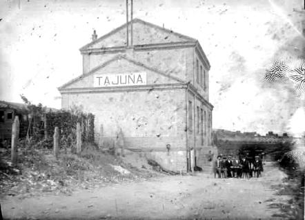 Estación de Tajuña , Fondo : A. Zubizarreta