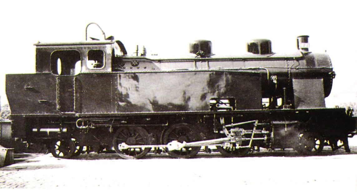 Locomotora Vapor MTM