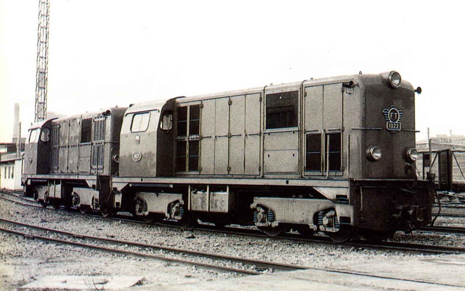 Locomotora Alsthom en los Talleres Vicálvaro