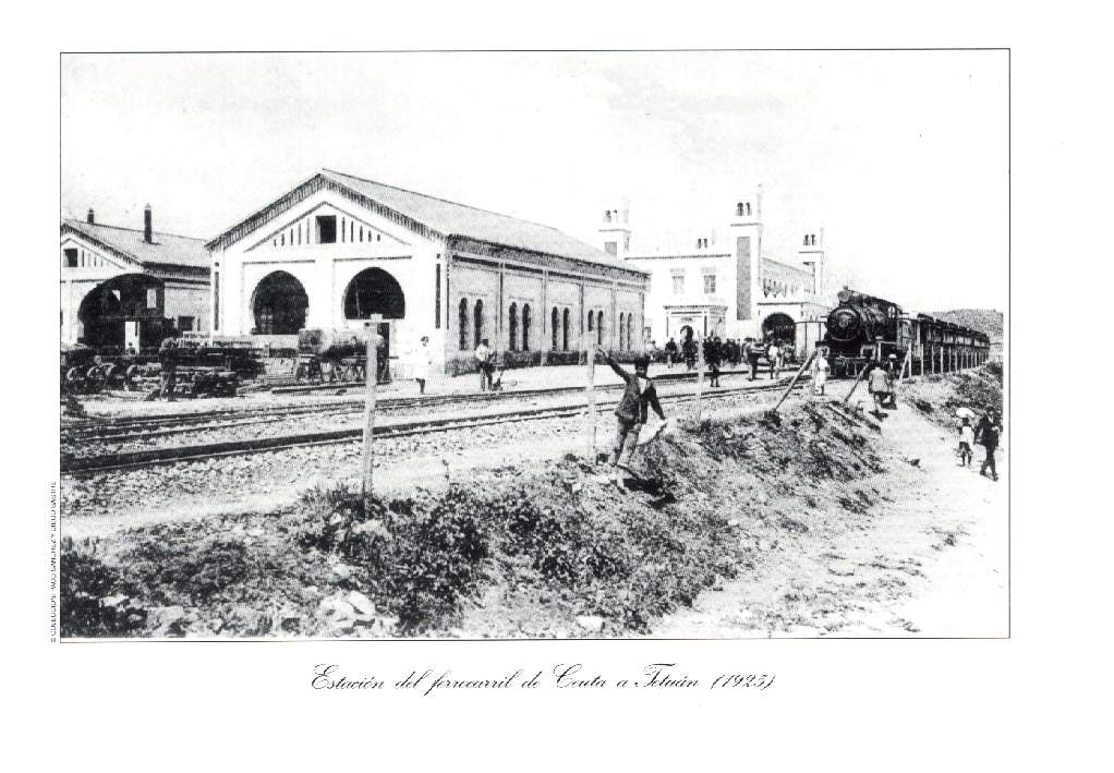 Ceuta , Deposito y Estacion