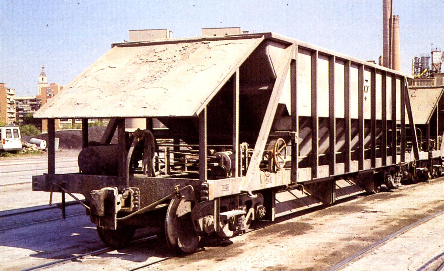 Tolvas nuevas, Ferrocarril del Tajuña
