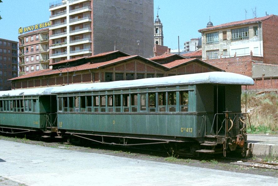 Coche de Viajeros del Ferrocarril de La Robla
