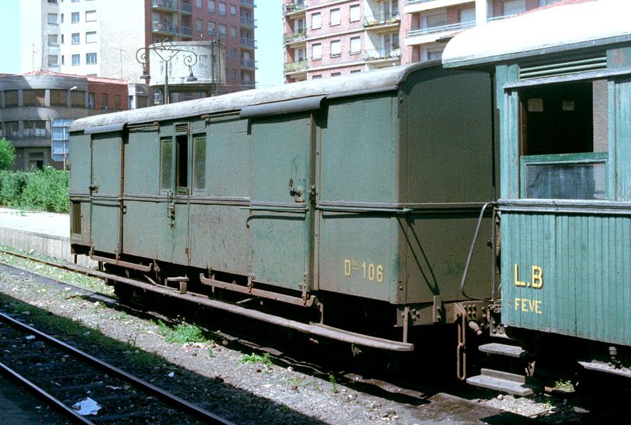 Ferrocarril de La Robla , furgón