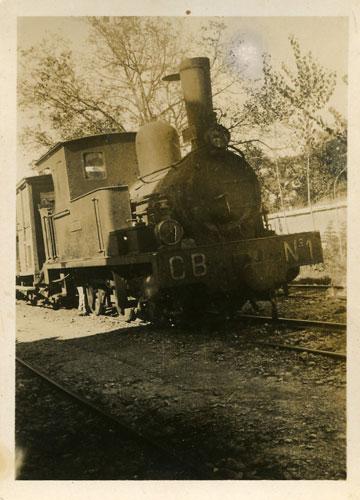 Locomotora nº 1 de Cortes a Borja , Fondo APG