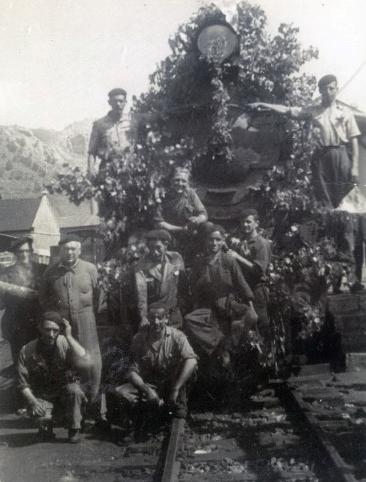 Agentes del Ferrocarril de la Robla, archivo Museo Vasco del Ferrocarril (1)