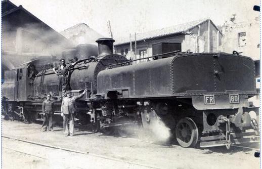 Agentes del Ferrocarril de la Robla, archivo Museo Vasco del Ferrocarril (3)