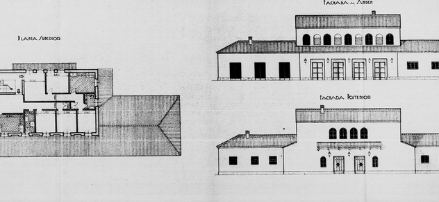 Aguilas a Cartagena , plano de la estacion Principal , AGA 24-10589