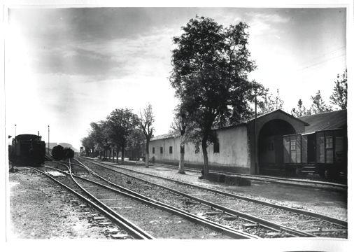 Alc-Cocheras-año 1950 archivo Miguel Sole