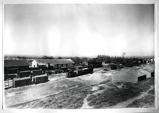 Alcañiz vista-general, archivo Museu del Ferrocarril de Catalunya