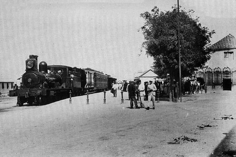 Estacion de Algeciras , año 1910, Fodo MDA