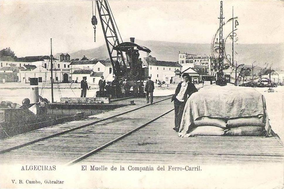 Estacion de Algeciras, foto autor desconocido