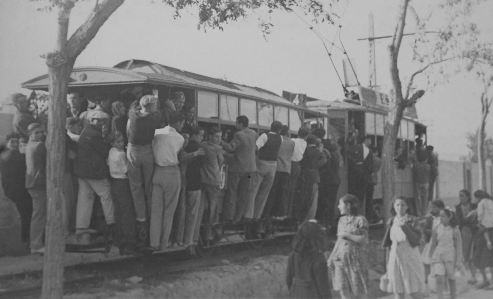 Alicante a la Santa Faz, año  1943 , fondo Historico BBVA