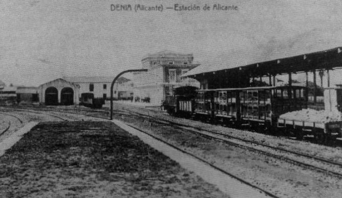 Alicante a Denia, fotogarfo desconocido, fondo Juan Peris Torner