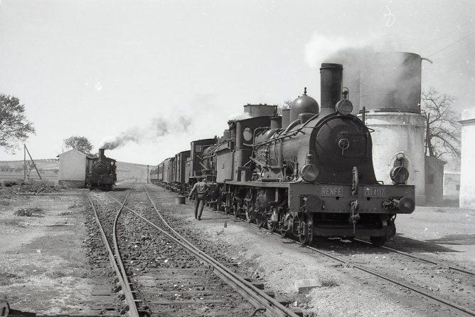 Andaluces locomotora 230, foto Trevor Rowe, foto MVF-Euskotren