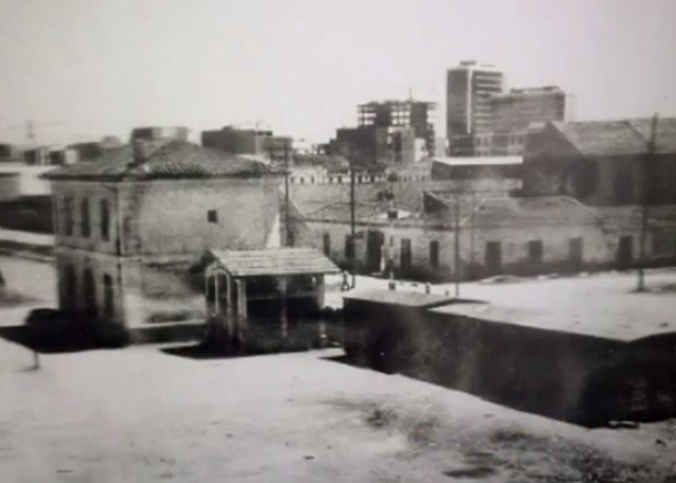 Antigua estacion de Mislata , fondo Ayuntamiento de Mislata