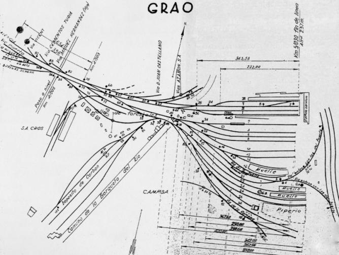 Apartedo industrial del final de linea en el Grao de Valecia, archivo Vicente Ferrer