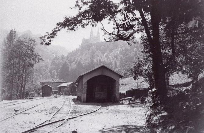Arriondas a Covadonga , archivo Andrés Ripolles Baranda