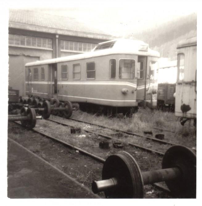 Automotor Billard en Valmaseda. 24-12-1977 , foto Carmelo Zaita