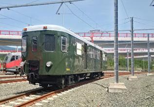 Automotor MAB-15 , restaurado en 2016, foto Juanjo Olaizola