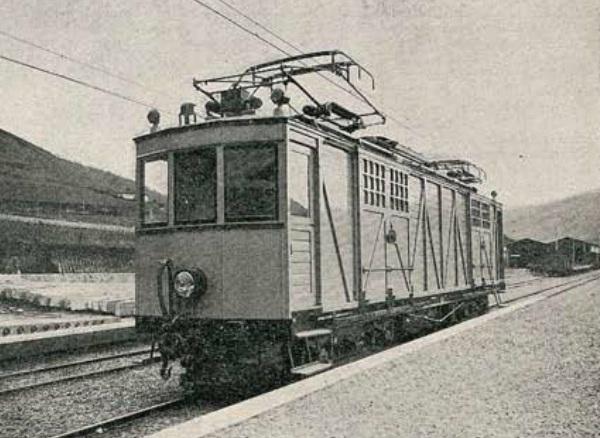Automotor electrico de mercancias, Fc del Urola , Revista Ingenieria y Construccion , año 1924