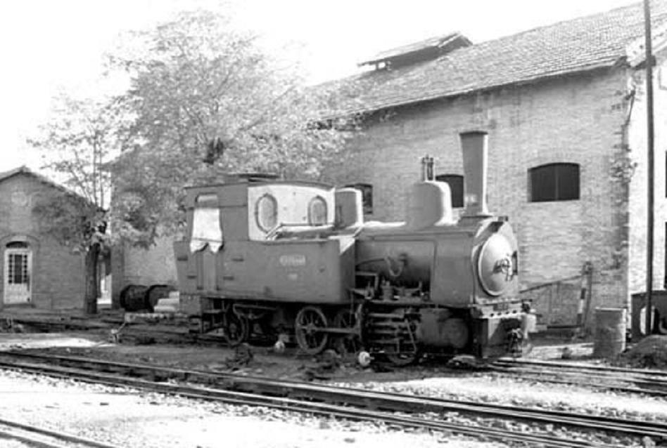Aznalcollar al Guadalquivir locom 031T nº 4 Guadiamar en el deposito de Camas, foto Les Perkings