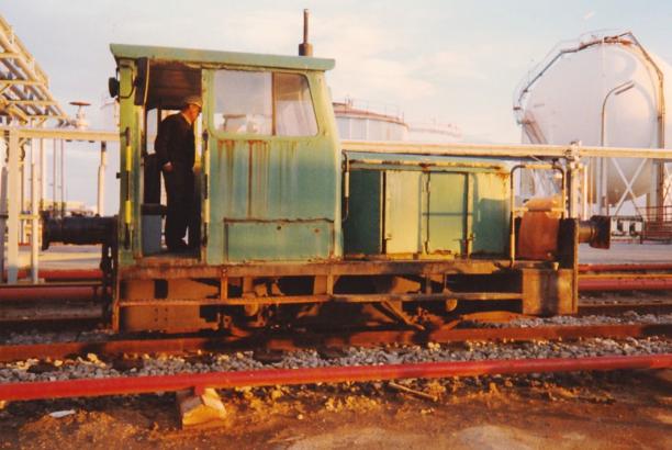 BP Oil - Ube Tractor , foto Eugenio Burriel Adell