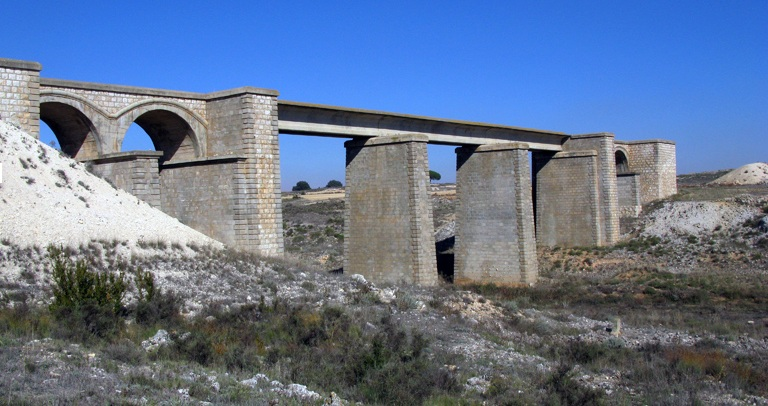Baeza a Utiel , Viaducto de Valdemembra , fondo FCMAF
