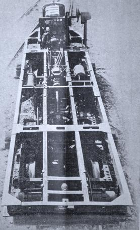 Bastidor de la Unidad Automotora Vasa, archivo Enrique Andres Gramage