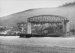 Betanzos a Ferrol ,Puente de Puentedeume, fondo APG