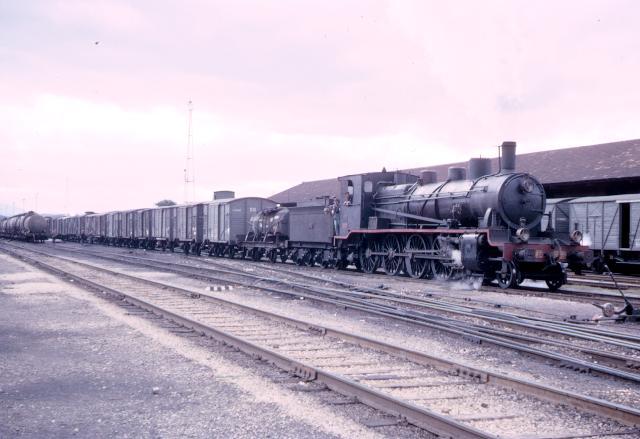 Bobadilla Renfe - 240-2039, oct 1966, foto Graham T.V. Stacey