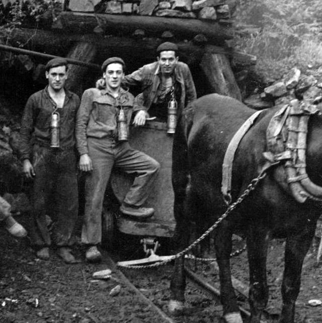Bocamina en el Coto Paz, Archivo Digital de Asturias