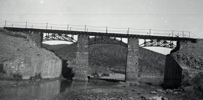 Buitron a S.Jua del Puerto, puente del Tintillo, foto Marta