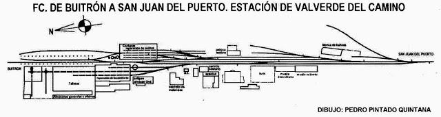 Buitron a San Juan del Puerto Estacion de Valverde del Camino, dibujo Pedro Pintado Quintana