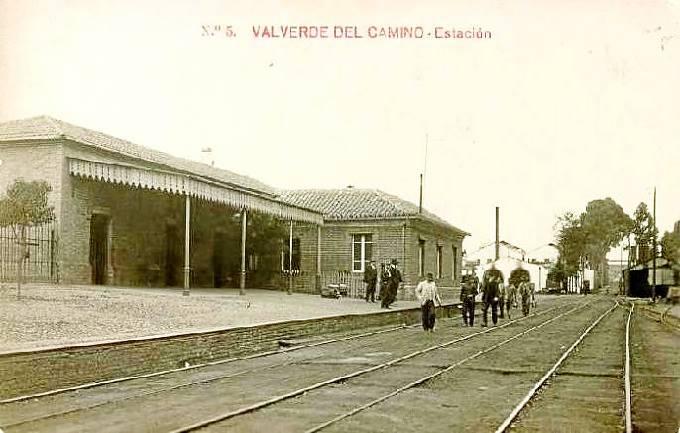 Buitron a San Juan del Puerto , Valverde del Camino , postal comercial