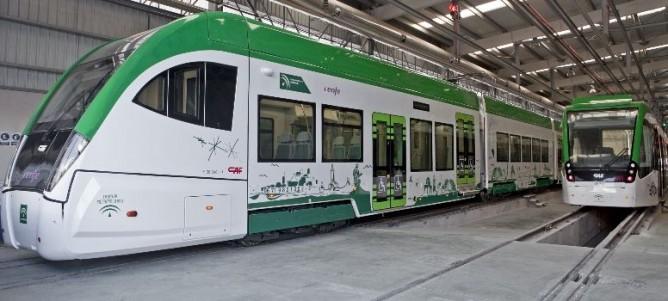 CAF , unidad Tren-tranvia