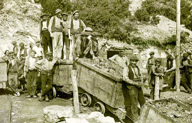 Cabeza del Plano incliado Natalia año 1911, foto coleccion de Xavier Tomás
