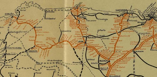 Caminos de Hierro del Norte de España , Plano 1